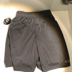 Champion Basketball shorts.